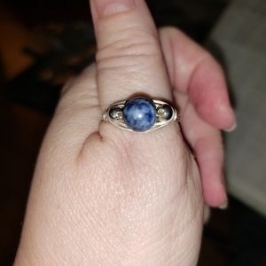 handmade silver wire wrap ring